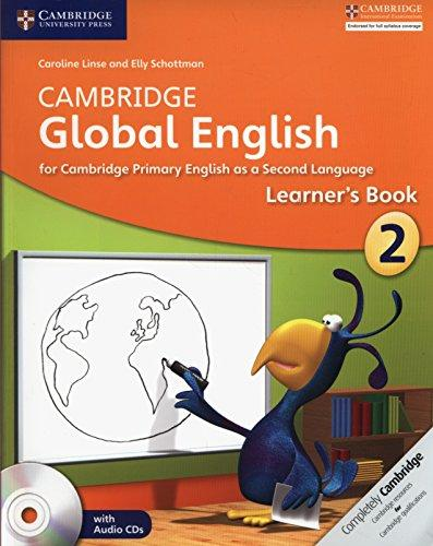 Cambridge Global English Stage 2 Learners Book with Audio CD Class II