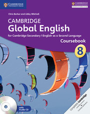 Cambridge Global English Stage 8 Coursebook with Audio CD Class VIII