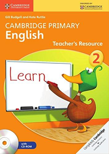 Cambridge Primary English Stage 2 Teachers Resource Book with CD-ROM Class II