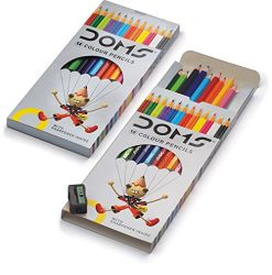 Doms 3445 Colour Pencil 12 Shade