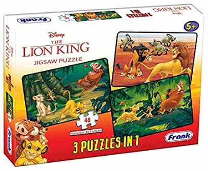 Frank Jigsaw Puzzle 3 in 1 11316 The Lion King
