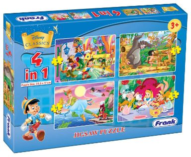 Frank Jigsaw Puzzle 4 in 1 12905 Disney Classics