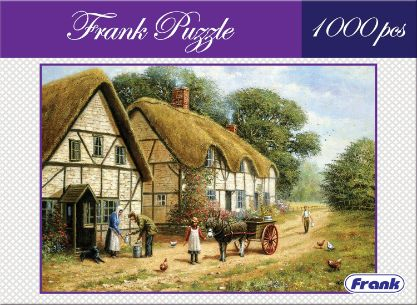 Frank 34003 Fun Puzzle Countryside