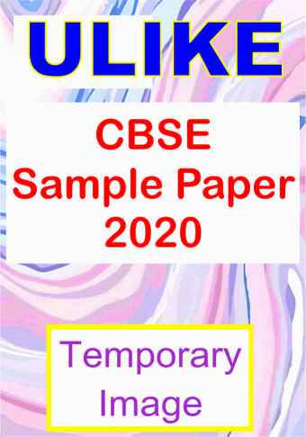 ULIKE Economics Sample Paper Class XI for 2020 examination