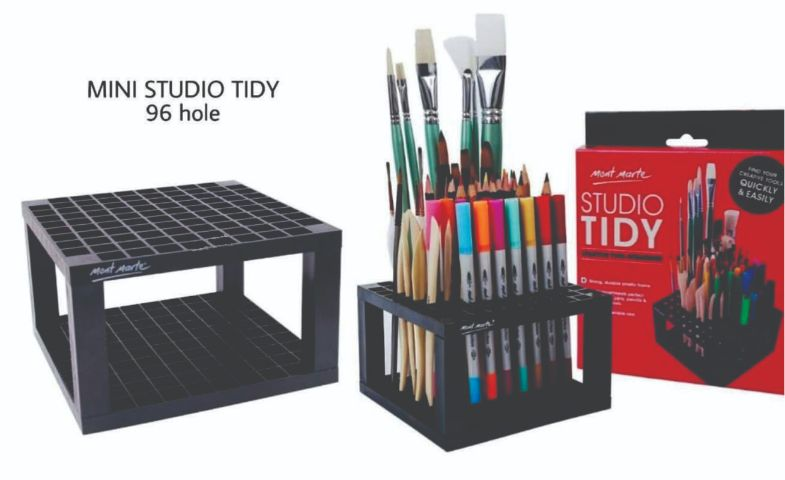 Mont Marte Mini Studio Stand Tidy 96 hole