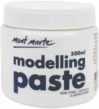Mont Marte White Modelling Paste 500 ml
