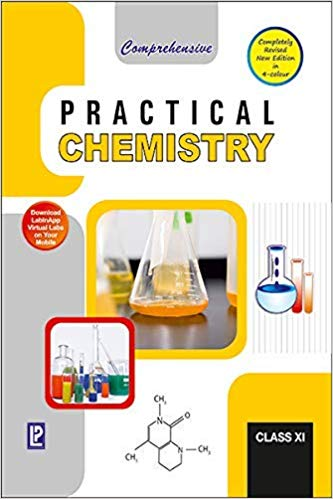 Laxmi Comprehensive Chemistry Labmanual book XI